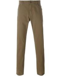 braune enge Jeans von Dolce & Gabbana