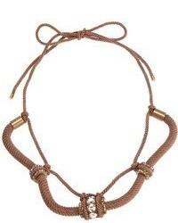 braune Halskette