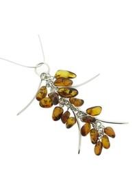 braune Halskette von Nova Silver