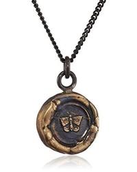 braune Halskette von Pyrrha