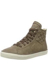 braune hohe Sneakers von Esprit