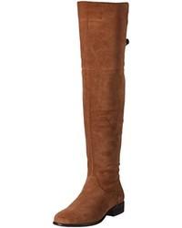 braune kniehohe Stiefel von Vero Moda