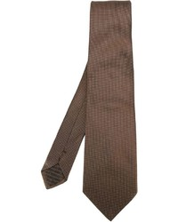 braune Krawatte von Armani Collezioni