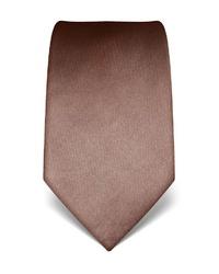 braune Krawatte von Vincenzo Boretti