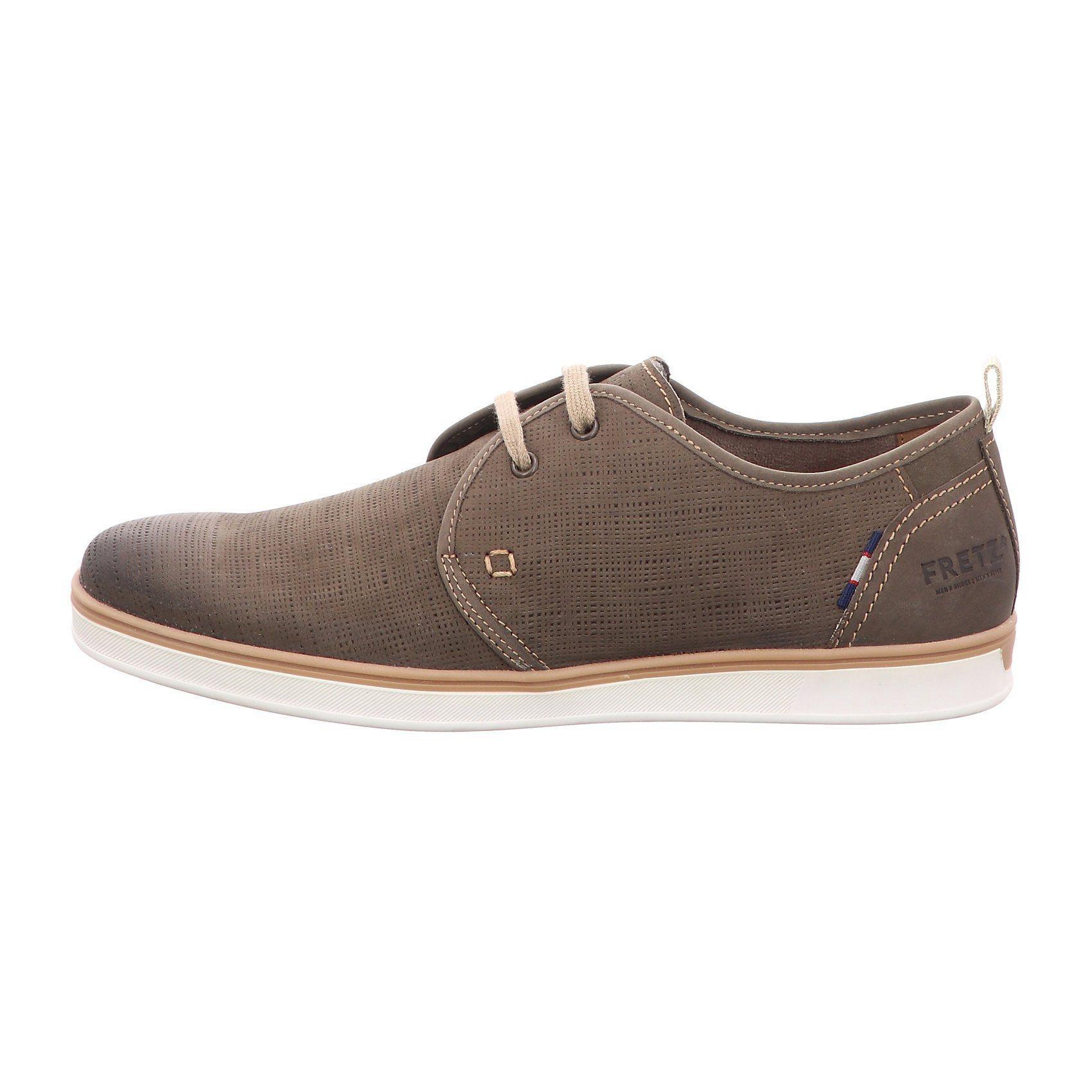 braune Leder Derby Schuhe von FRETZ men