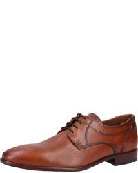 braune Leder Derby Schuhe von Lloyd