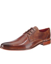 braune Leder Derby Schuhe von Melvin&Hamilton