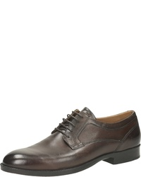 braune Leder Derby Schuhe von Mercedes