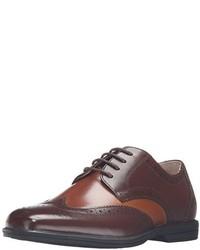 braune Leder Oxford Schuhe