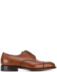 braune Leder Oxford Schuhe von Church's