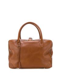 braune Leder Reisetasche von Golden Goose Deluxe Brand