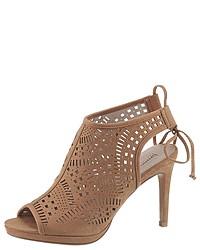 braune Leder Sandaletten von Bruno Banani