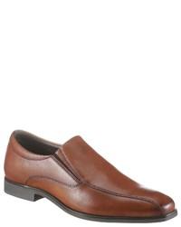 braune Leder Slipper von PETROLIO