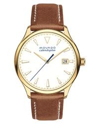 braune Leder Uhr