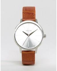 Braune Leder Uhr von Nixon