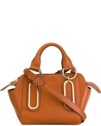 braune Lederhandtasche von See by Chloe