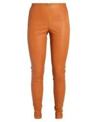 Modische braune Lederhose für Damen bei Zalando für Winter 2019 ... a3815d2643