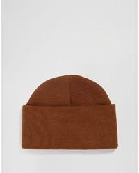 braune Mütze von Asos