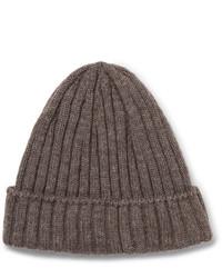 braune Mütze von De Bonne Facture