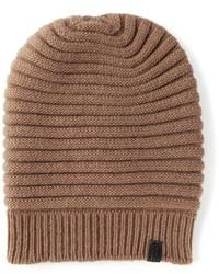 braune Mütze von Giorgio Armani
