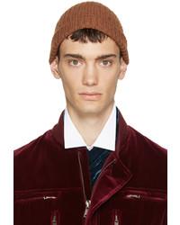 braune Mütze von Haider Ackermann