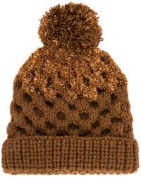 braune Mütze