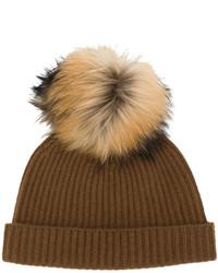 braune Mütze von N.Peal