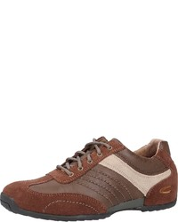 braune niedrige Sneakers von camel active