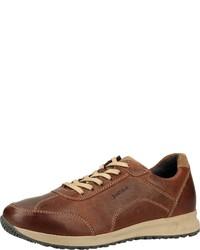 braune niedrige Sneakers von Josef Seibel