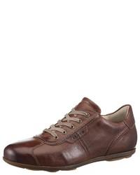 braune niedrige Sneakers von Lloyd