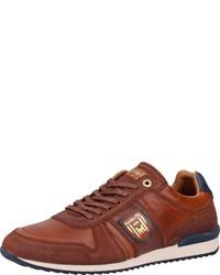 braune niedrige Sneakers von Pantofola D'oro