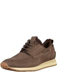 braune niedrige Sneakers von Sebago