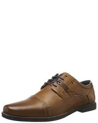 braune Oxford Schuhe von s.Oliver