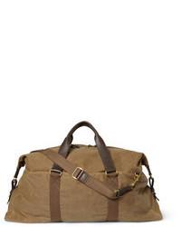 braune Segeltuch Reisetasche von J.Crew