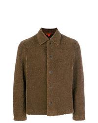 braune Shirtjacke von Barena