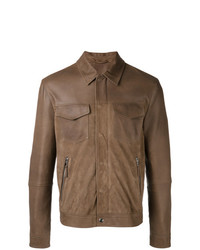 braune Shirtjacke von Eleventy