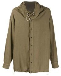 braune Shirtjacke von Emporio Armani