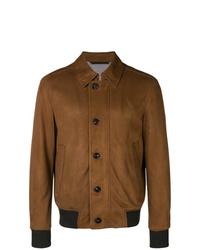 braune Shirtjacke von Ermenegildo Zegna