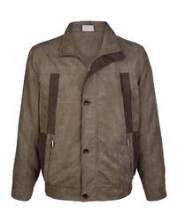 braune Shirtjacke von ROGER KENT