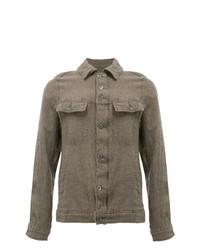 braune Shirtjacke von Undercover