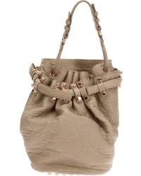 braune Shopper Tasche aus Leder von Alexander Wang