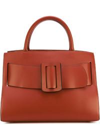 braune Shopper Tasche aus Leder von Boyy