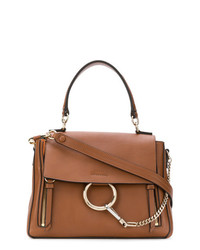 braune Shopper Tasche aus Leder von Chloé