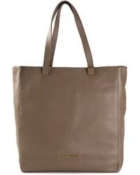 braune Shopper Tasche aus Leder von Emporio Armani