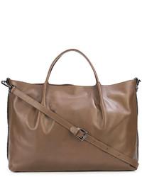braune Shopper Tasche aus Leder von Fabiana Filippi