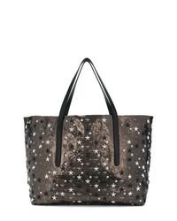 braune Shopper Tasche aus Leder von Jimmy Choo