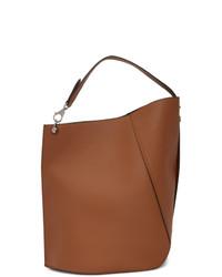 braune Shopper Tasche aus Leder von Lanvin