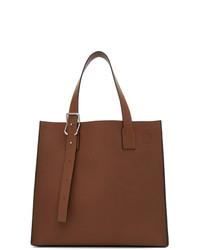 braune Shopper Tasche aus Leder von Loewe