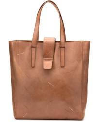braune Shopper Tasche aus Leder von Maison Margiela