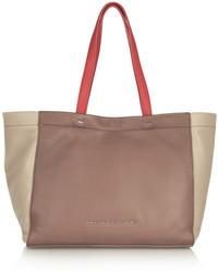 braune Shopper Tasche aus Leder von Marc by Marc Jacobs